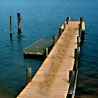 a long pier extending away from shore